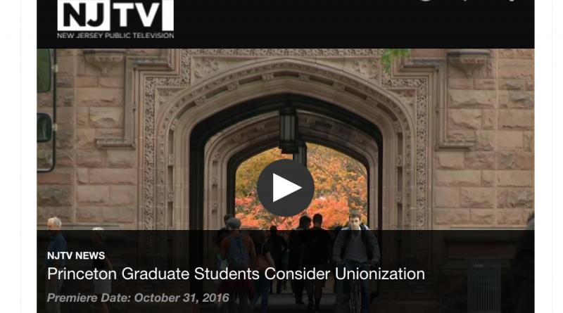 Princeton Graduate Students Consider Unionization