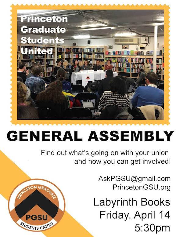 You're Invited: General Assembly