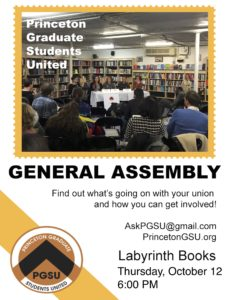 General Assembly October 12